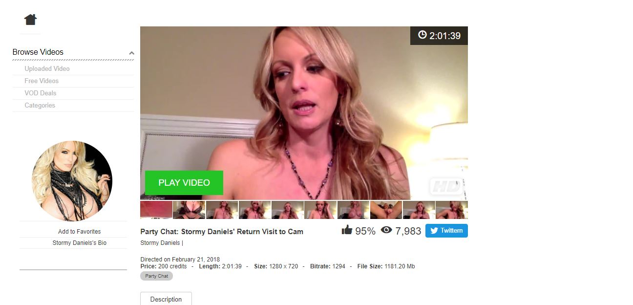 camster stormy daniels