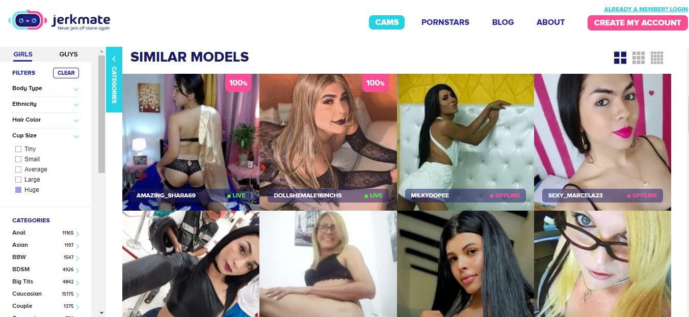 jerkmate trans cam models