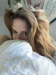 TopSiteCam Ashley Lane just woke up selfie