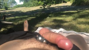 Topsitecam William Moore showing dick outdoors